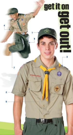 How to star wear scout uniform